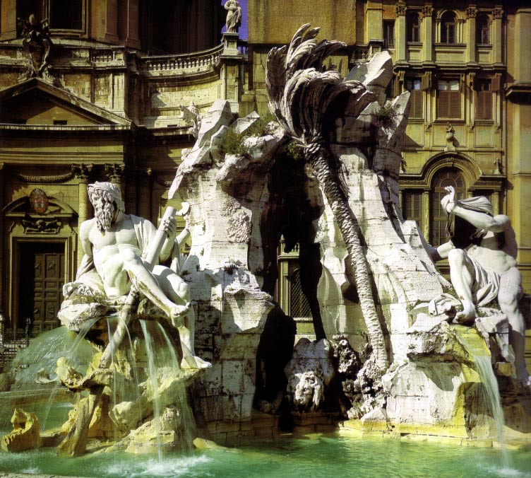 Bernini: Fountain of the Four Rivers