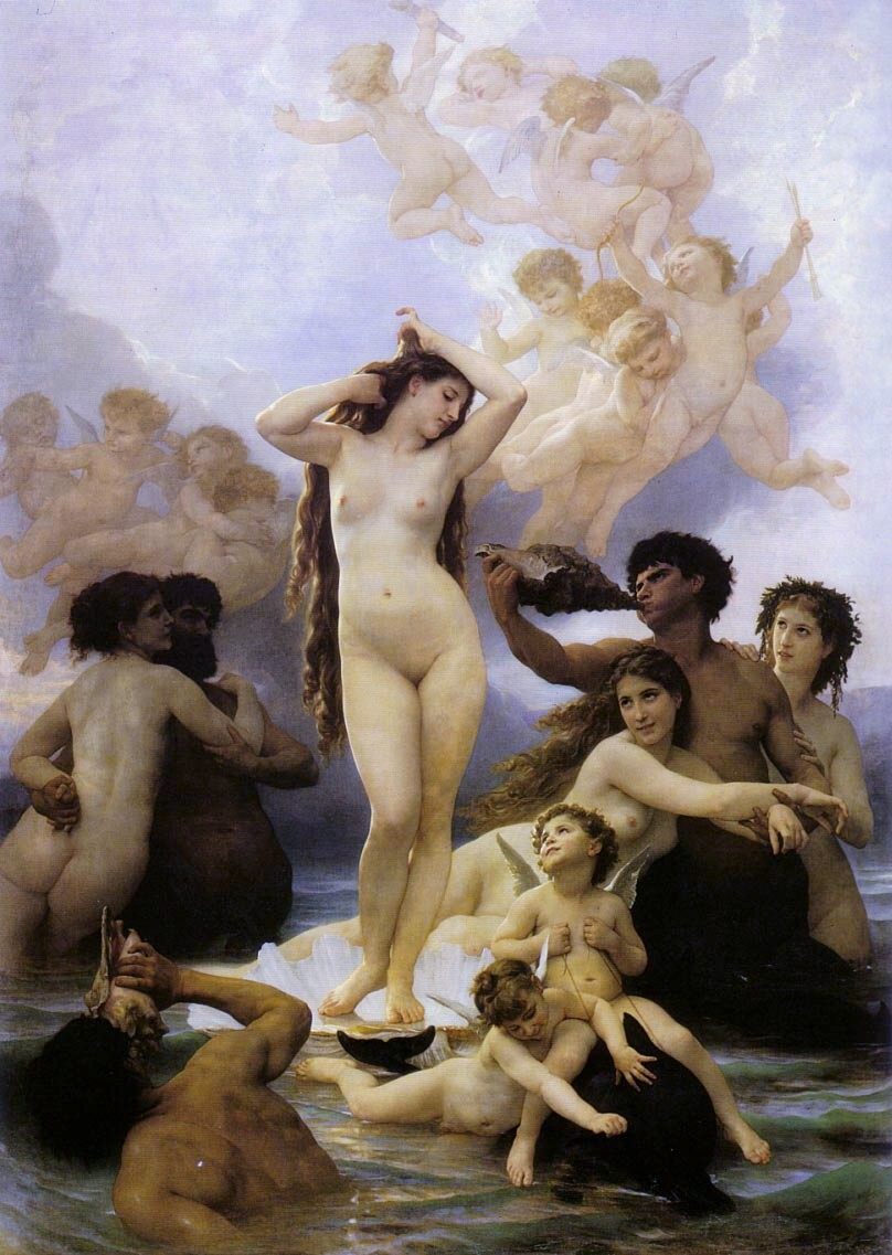 William A. Bouguereau Bouguereau_venus