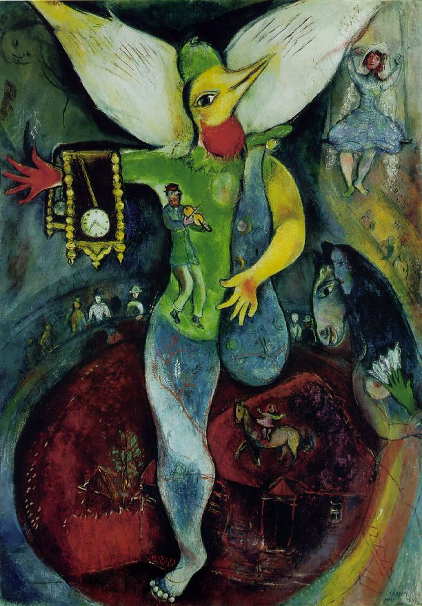 Saturday Art Chagall S America Windows Shadowproof