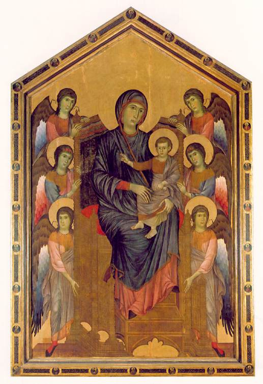 chimabue vs giotto Cimabue's palette is delicate his works raise the issues that would preoccupy his successors, notably giotto: the representation of space.