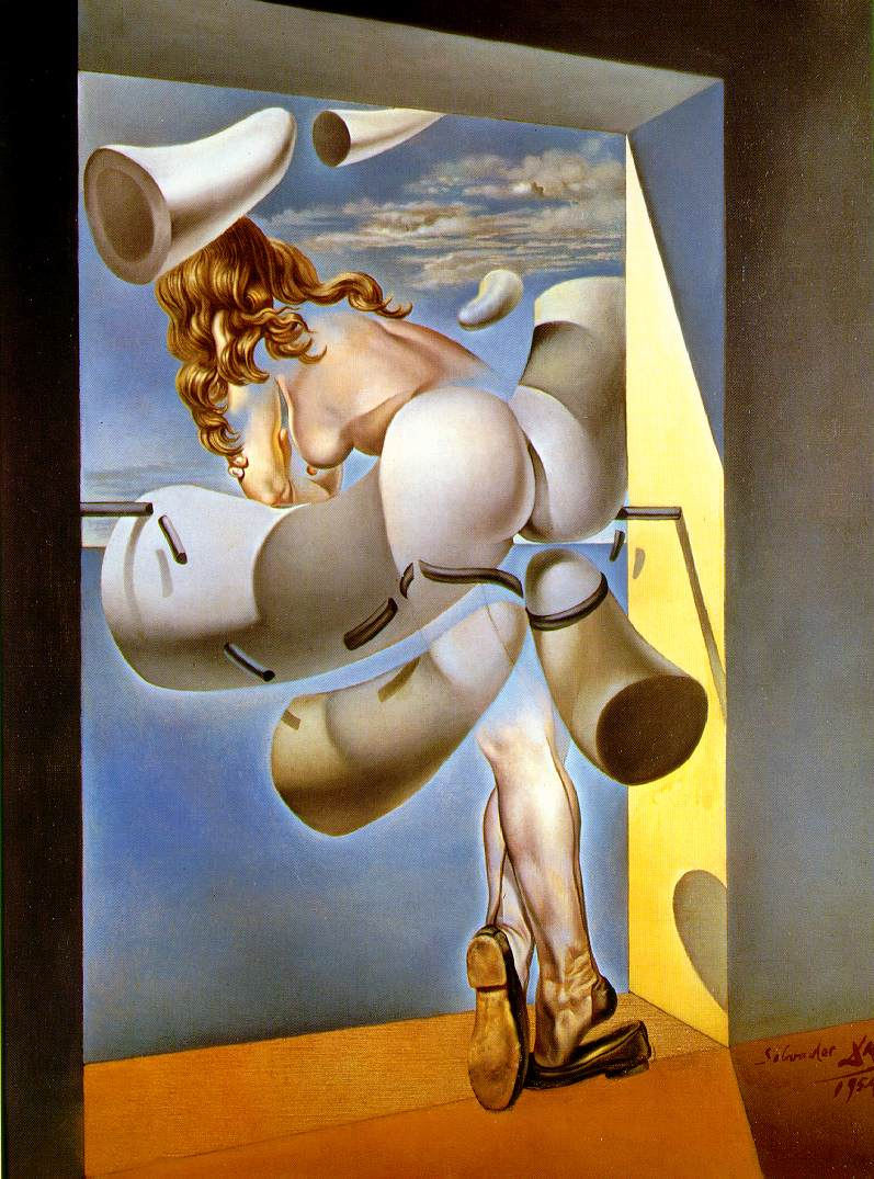 Dali: Young Virgin Autosodomized by Her Own Chastity