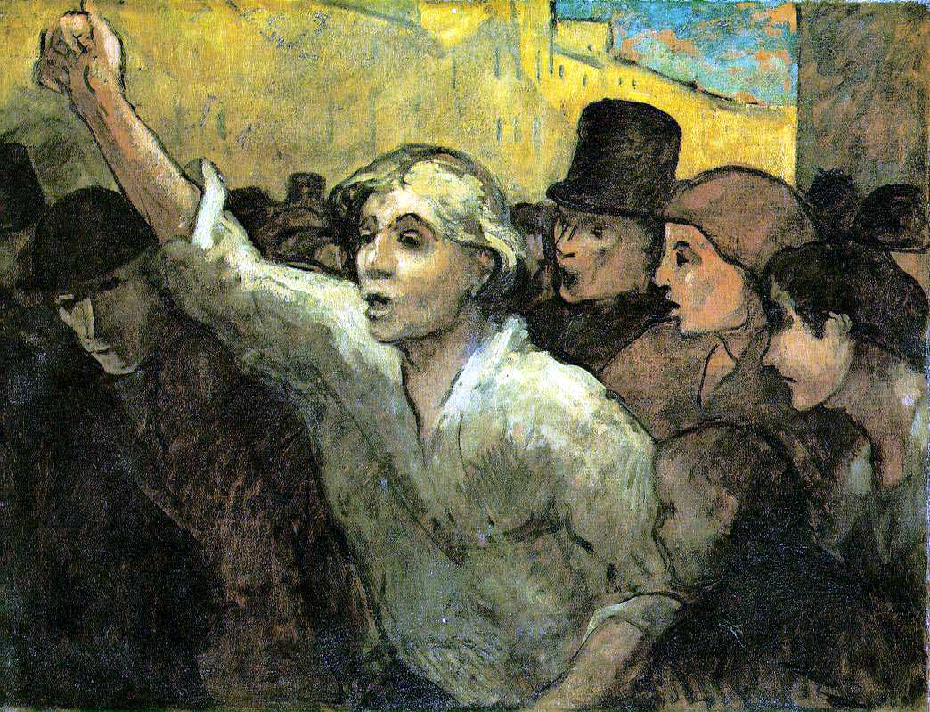 Daumier, Honore: The Uprising
