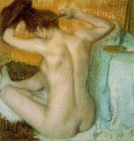 Degas, Edgar | Woman Combing Her Hair