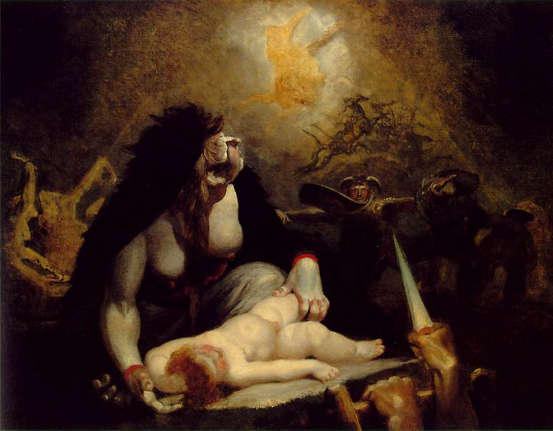 Fuseli: The Night-Hag Visiting the Lapland Witches