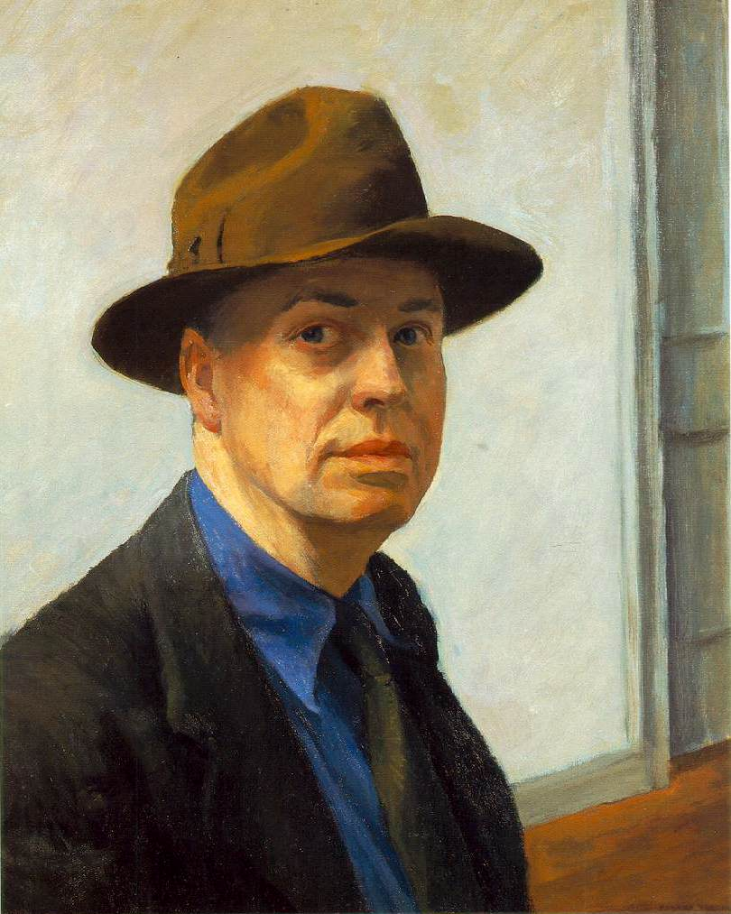 Edward Hopper SelfPortrait