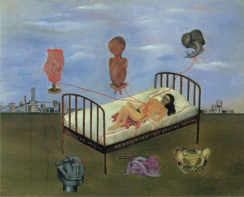 Henry Ford hospital - Frida Kahlo