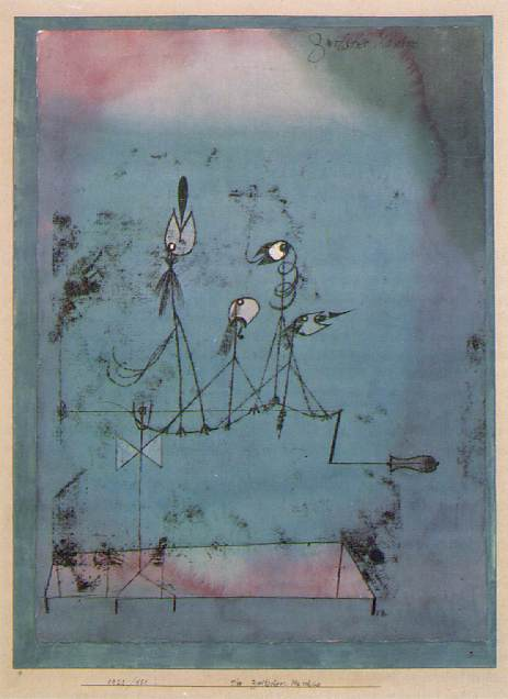 Paul Klee, The Twittering Machine