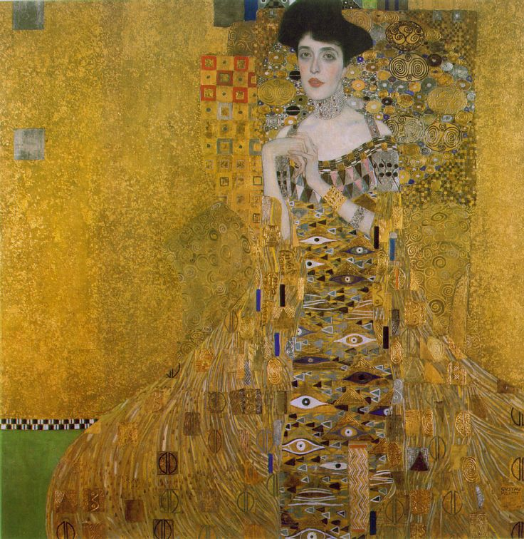 Gustav Klimt.... master of sensual line and pattern