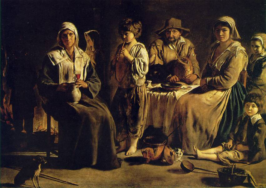 Le Nain: Peasant Family in an Interior