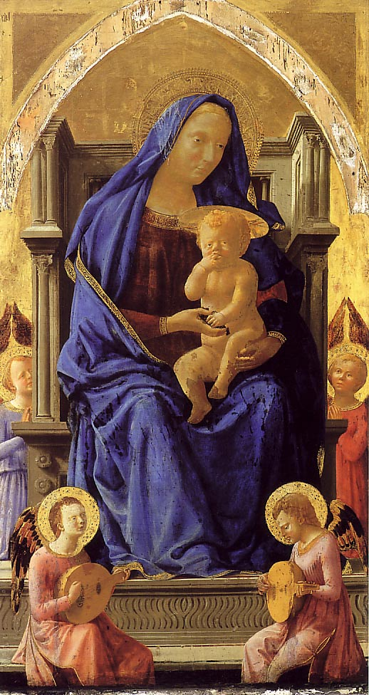 Masaccio The Virgin and Child