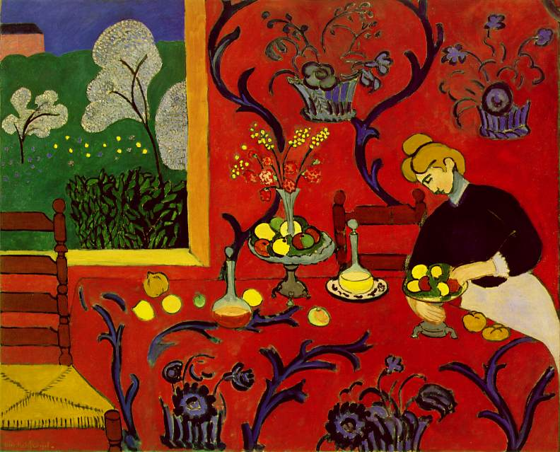 Harmony in Red by Matisse