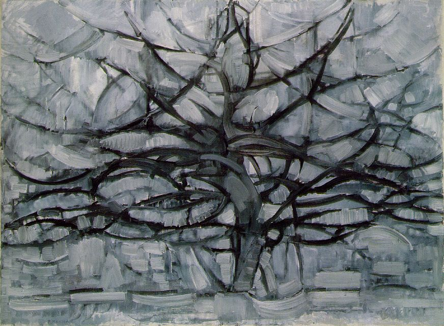 Mondrian: Gray Tree