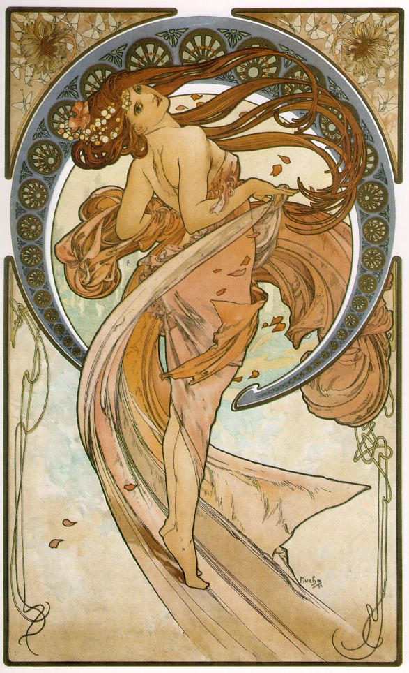 Alphonse Mucha, anyone??
