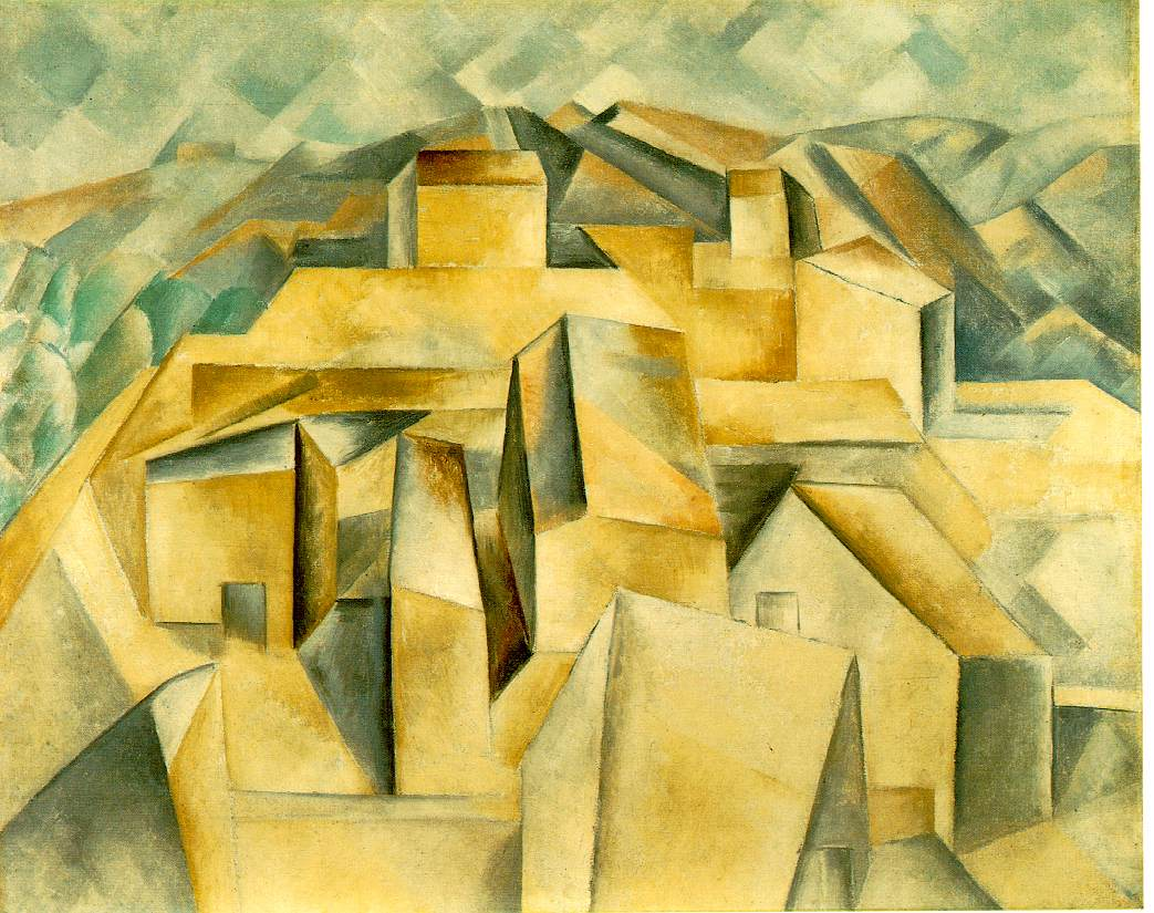 Picasso: Houses on the... Lyonel Feininger Photography