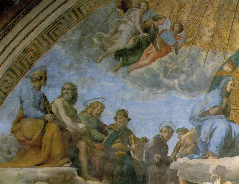 Raphael: Disputa (Dispute Over the Sacrament)
