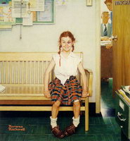 Norman Rockwell, Girl with Black Eye