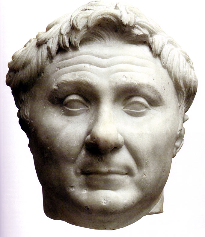 Roman Art: Portrait of Pompey the Great