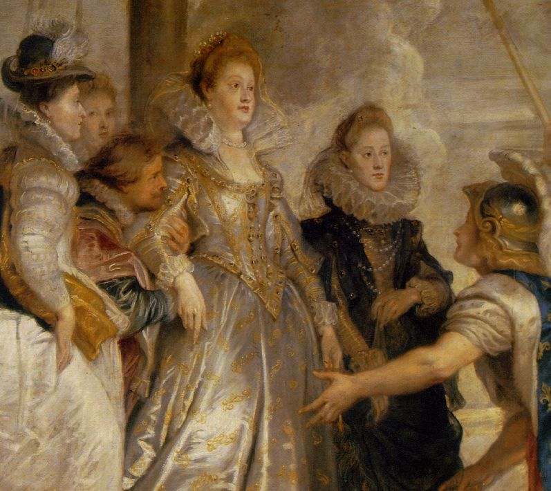 Rubens: The Arrival of Marie de' Medici at Marseilles
