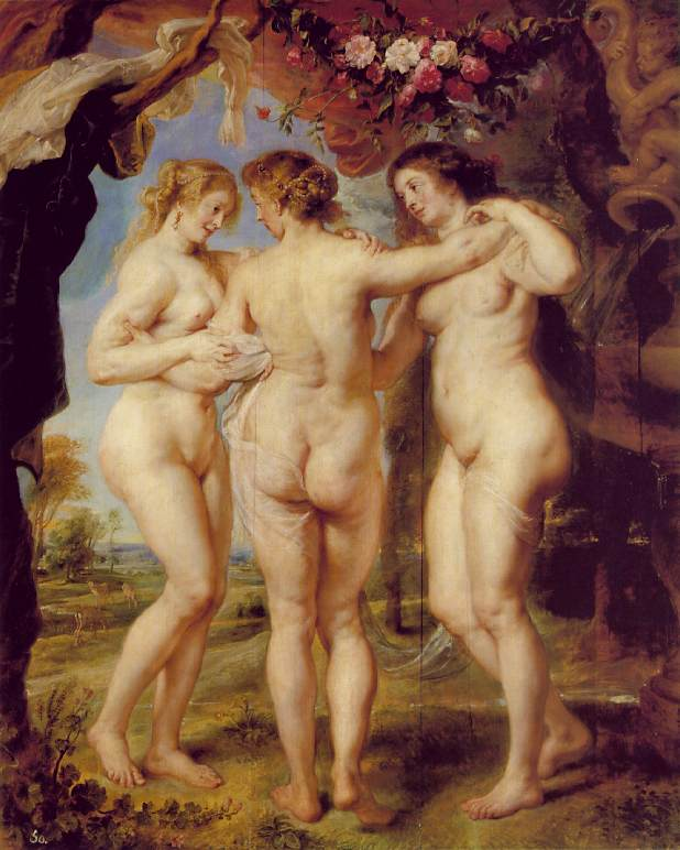 Rubens: The Three Graces