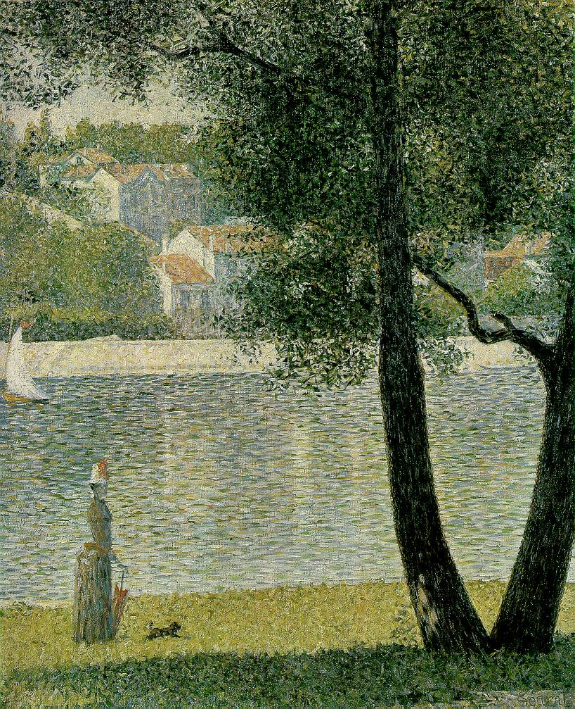 Neo Impressionism: Today In Social Sciences...: Bathers At Asnières, By