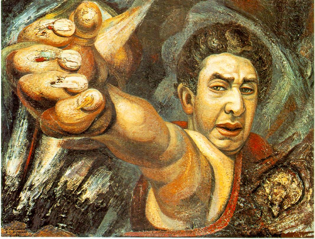 David Alfaro Siqueiros Art Gallery Guide - Art cyclopedia: The