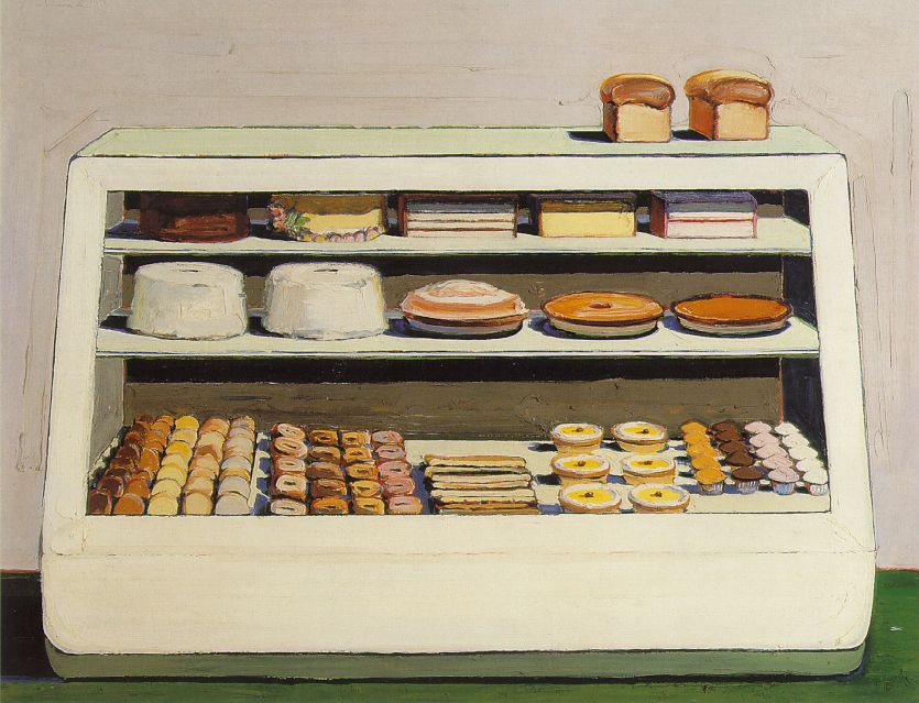 Cake Art Bakery : Thiebaud: Bakery Counter
