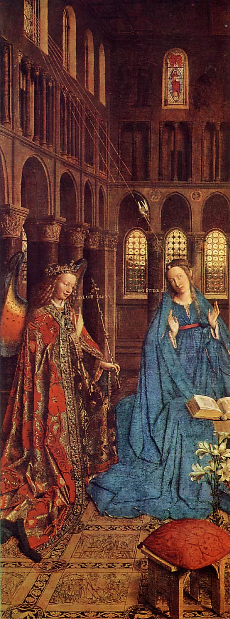van eyck the annunciation
