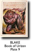 BLAKE, Book of Urizen, Plate 9