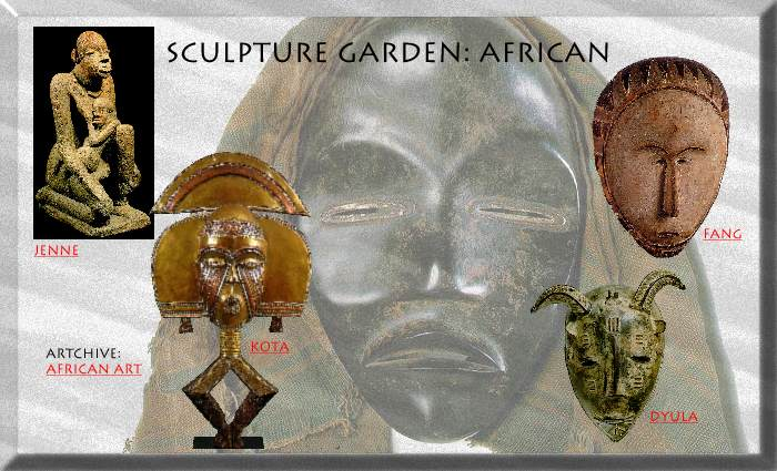 Artchive: Sculpture Garden - AFRICAN