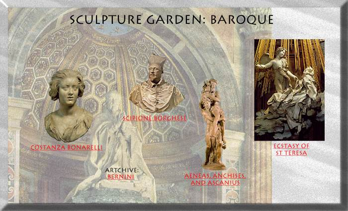 Artchive: Sculpture Garden - BAROQUE